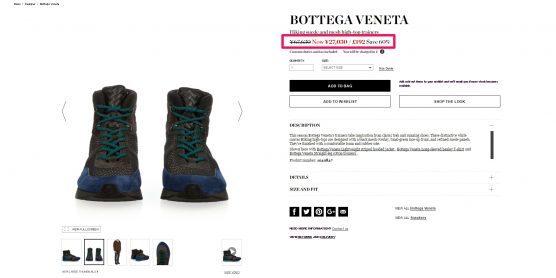 BOTTEGA VENETA シューズ セール 海外通販