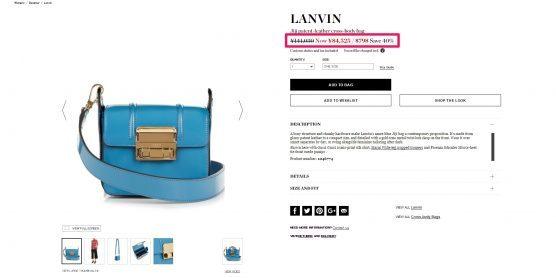 LANVIN Jiji patent-leather cross-body bag