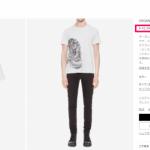 ALEXANDER MCQUEEN T-shirt 国内
