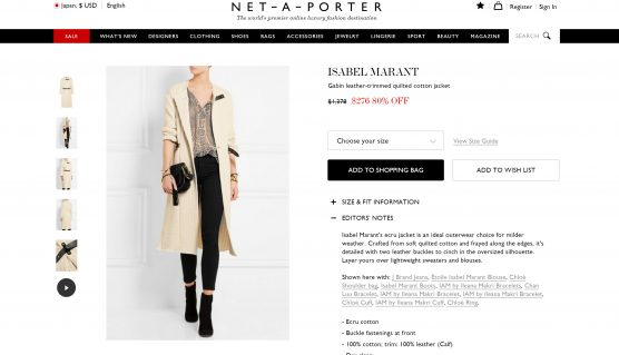 isabel marant cotton jacket