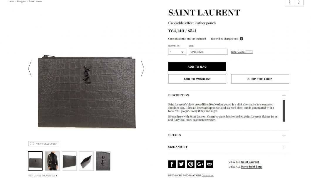 saint-laurent-pouch-bag