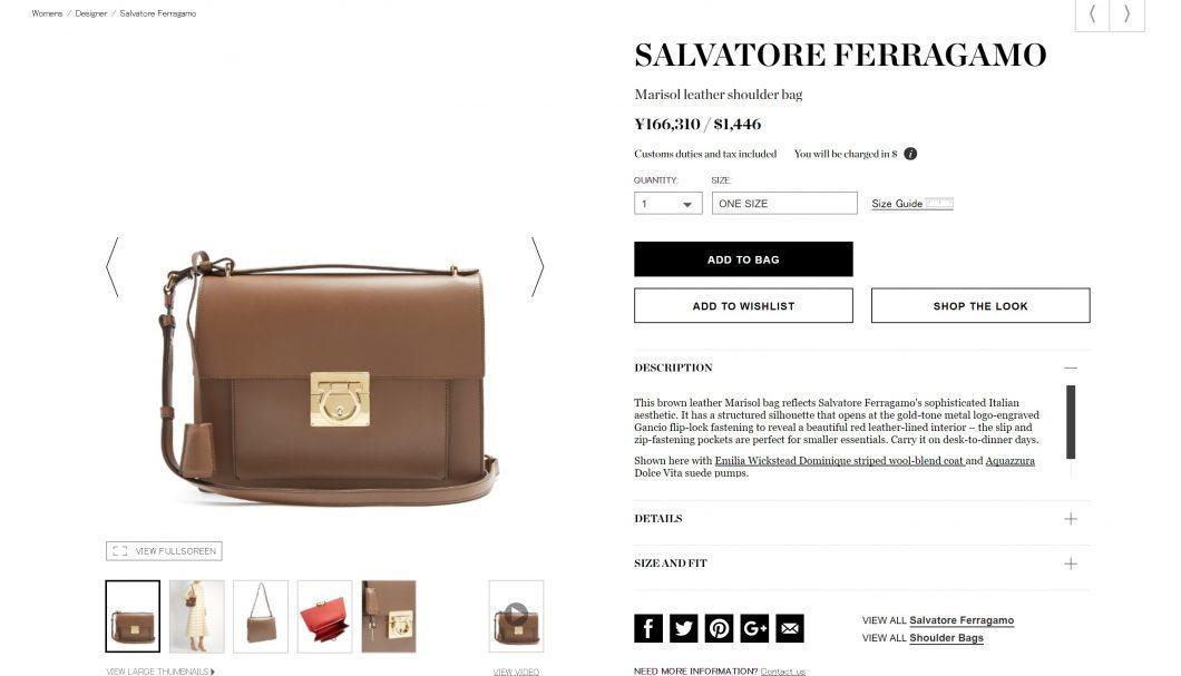 SALVATORE FERRAGAMO 2017ss bag