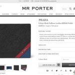prada wallet 2017ss mens