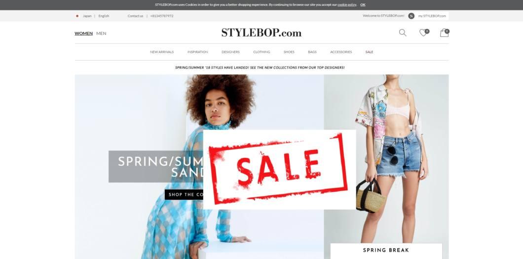 STYLEBOP-2018SS-sale