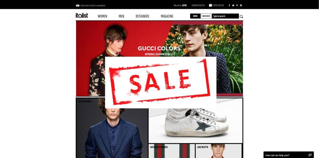 italist sale